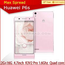 4.7 inch 2GB RAM 16GB ROM quad core smart original huawei p6S china brand name mobile phone