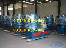 high return recycling plastic agglomerator