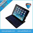 For iPad Air/ iPad 5 Portable Backlit Keyboard Case Bluetooth Illuminated Keyboard Ultrathin Cover Bluetooth Keyboard