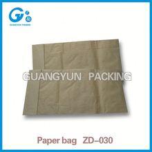 Packaging bag sack kraft paper cement bag