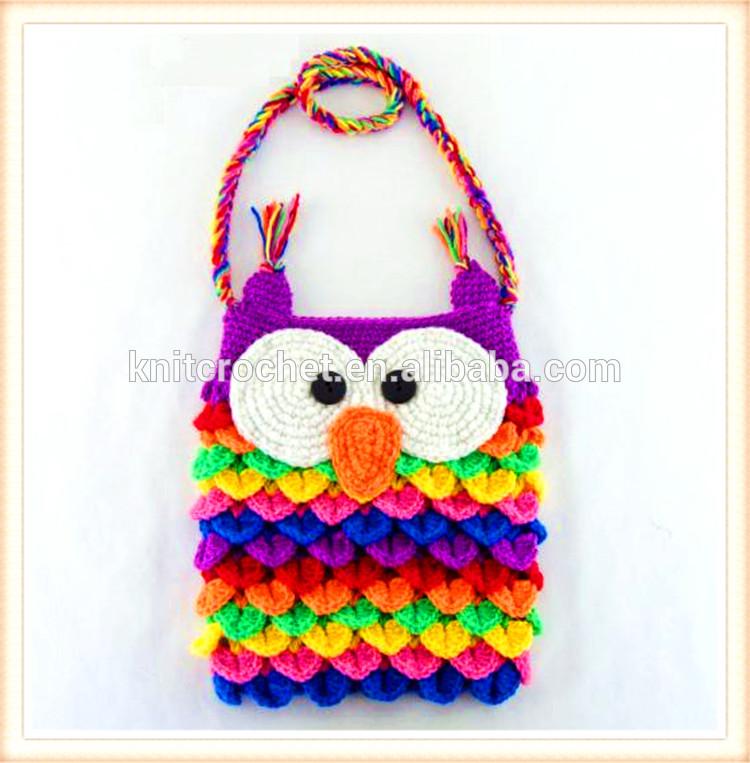 Owl Bag Knitting Pattern : crochet owl purse and wallet