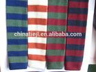 100% wool striped knitted mens elastic necktie