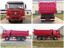 Sinotruk HOWO dump truck Loading 25-30 tons 6*4