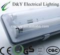 Led resistente a la intemperie de luz fixture B serie 2 x 36 w lámpara impermeable de la lámpara fluorescente t8 36 w