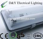 led weatherproof light fixture B series 2x36w waterproof fixture fluorescent lamp t8 36w