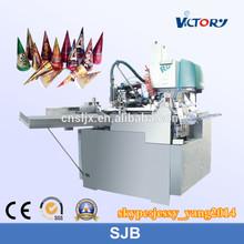 China Ice Cream Paper Cone Machine, paper cone sleeve forming machine, automatic paper cone manufacturing machine