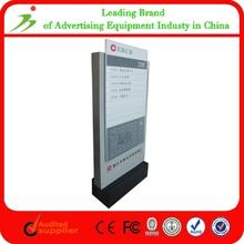 Fashion Design Unipole Aluminum Tri-vision Billboard