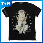 2014 newest graduation designs smooth cheap tie and dye 50/50 t shirts