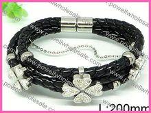 Medium Dubai Fashion African Jewellery fashion jewelry shamballa bracelet black gallstone healing