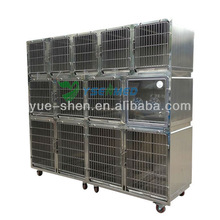 long usage cheap strong stainless steel dog kennels