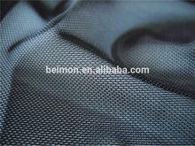 93% polyester 7% spandex mesh fabric transparent