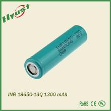 Original samsung inr18650-13q cell 3.7v 18650 1300mah li-ion rechargeable battery