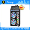 High quality 12 inch 150w battery powered speaker with disco small mixer