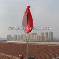 100w spiral wind turbine/ blades