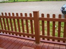 Perservative waterproof outdoor WPC wood plastic garden fence