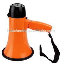 talk & siren megaphone with foldable handle