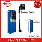 20 meters reading long distance parking complete equipments. RFID card parking management system manufacturer