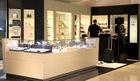 Glass window wall watch display case & cabinet