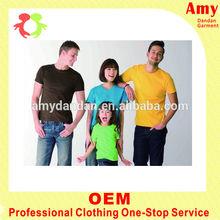 OEM large quantities tshirt family tshirt couple tshirt