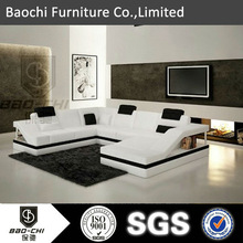 Baochi victorian sectional sofa,high density foam for sofa,made in china leather sofa C1158