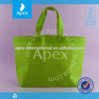 Hot sale solid color eco non woven shopping bag