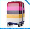 hot sale colorful hard case trolley bag