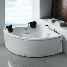 2013 new design acrylic bathtub two persons freestanding bathtub