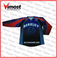 hot sale high quality custom made digital sublimation ice hockey jersey