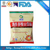 Eco-friendly heat seal resealable plastic food bag recycling