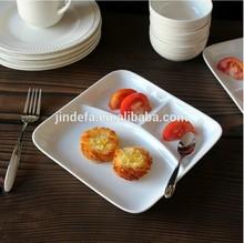 white porcelain/ceramic dessert plate