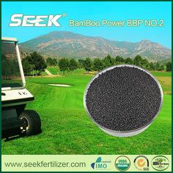Slow release turf fertilizer biochar fertilizer