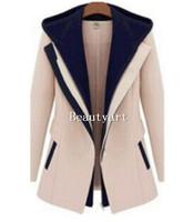 Fashion Street Jackets Women 2014 Spring Slim Faux Two Piece Patchwork Blazer Casual Coats