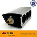 a inclinação do telhado alumium coletor de tubo de vácuo solar painéis