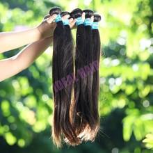 China manufacture 100% human weave virgin peruvian hair weaving