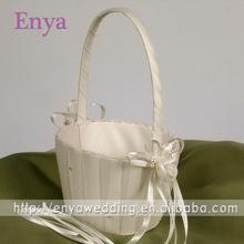 EYFB09 Fancy ivory wedding basket decoration