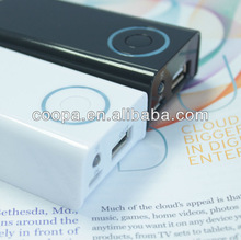 China hotselling mini usb power tube for all mobile, 4400mAh capacity
