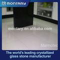 de cristal de vidrio blanco azulejos de piso