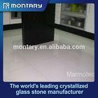 crystal white glass floor tiles