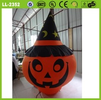 2014 hot sale decorative lighting inflatable Halloween pumpkin model