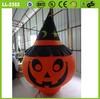 2014 hot sale decorative lighting inflatable Halloween pumpkin model