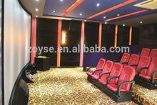 Good quality cinema chair dimensions use for 3d,4d,5d,7d,9d cinema