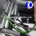 di alta qualità tubi corrugati condotti elettrici tubo cavo maniche pvc coperto zincato guaina impermeabile
