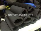 black color NBR rubber roller tube heat insulation foam tubes eva foam tube