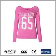 bulk wholesale 100 cotton high quality pink ladies new design fashion long t shirt