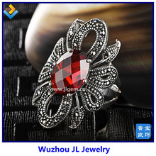 Europe and America vintage style AAAA zirconia cock ring