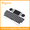 2.4GHz wireless Keyboard with Touchpad i8 air mouse with hebrew keyboard for smart tv