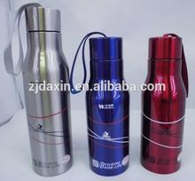 Custom stainless water/sport bottle,custom cycling water bottles,water bottle holder carabiner china supplier