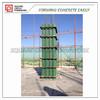 reusable Wooden& plastic shuttering formwork for square column/ plastic formwork for construction