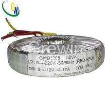 240v 110v step down lcd inverter toroidal transformer manufacturer