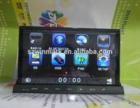 unique design car DVD player with detachable tablet DM7835C